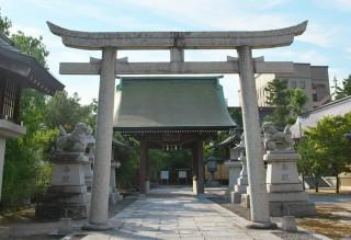 賀茂神社 天満宮の鳥居