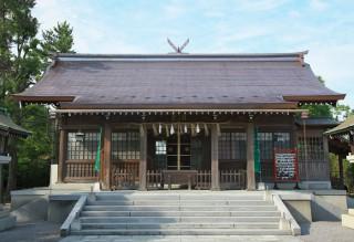 拝殿 昭和19年再建 昭和36年増改築